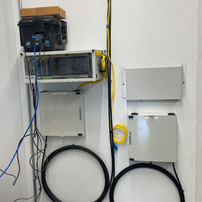 Fiber Optic Services - Solar Plant Splicing